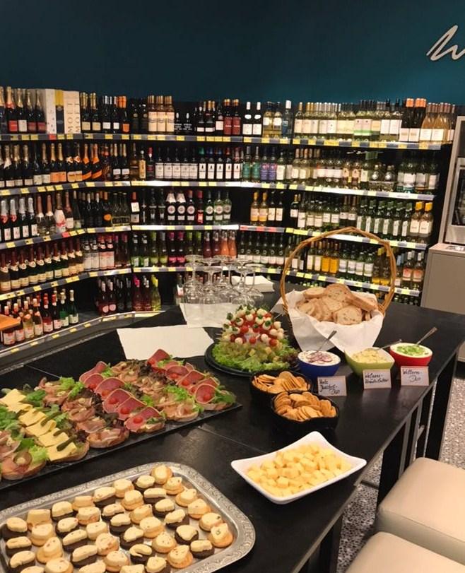Rückblick 6. Weinabend im EDEKA Markt Effing