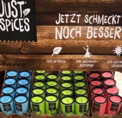 Neuigkeiten im Gewürzregal: Just Spices Gewürze