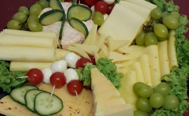 Köstliche Käseplatten