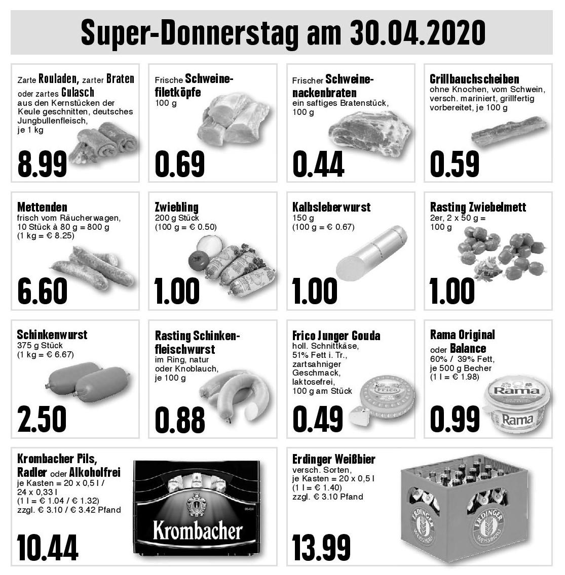 Super-Donnerstag am 30.04.2020
