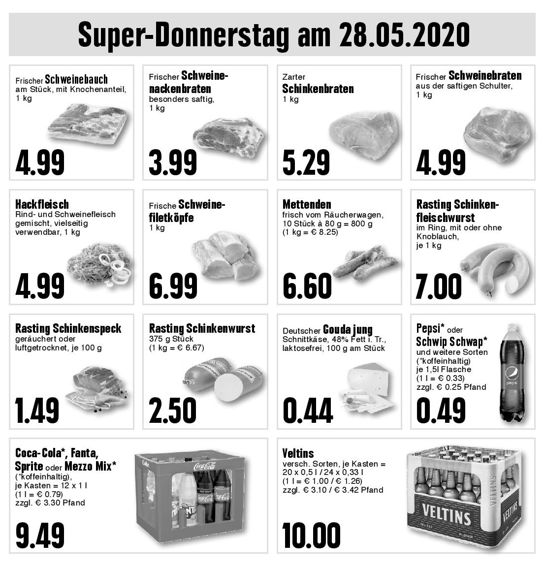 Super-Donnerstag am 28.05.2020