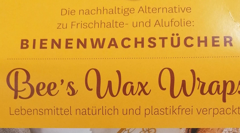 Bee´s Wax Wraps® – die nachhaltige Alternative zu Frischhalte- und Alufolie