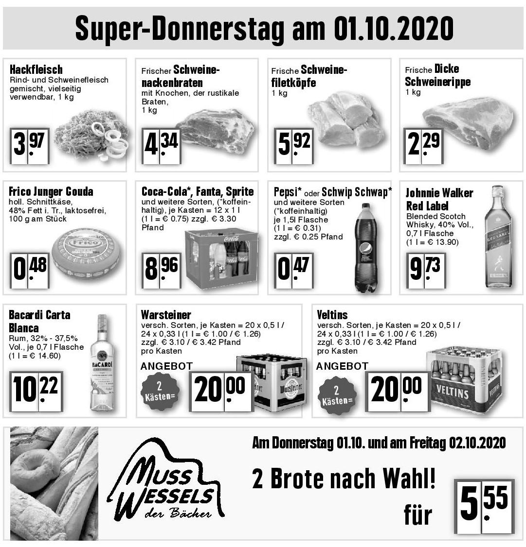 Super-Donnerstag am 01.10.2020