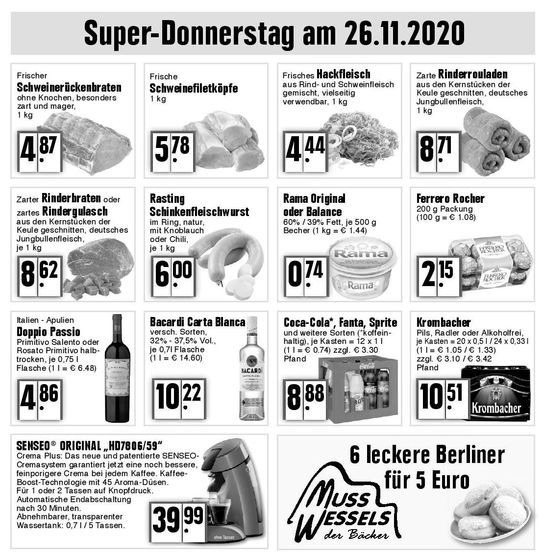 Super-Donnerstag am 26.11.2020