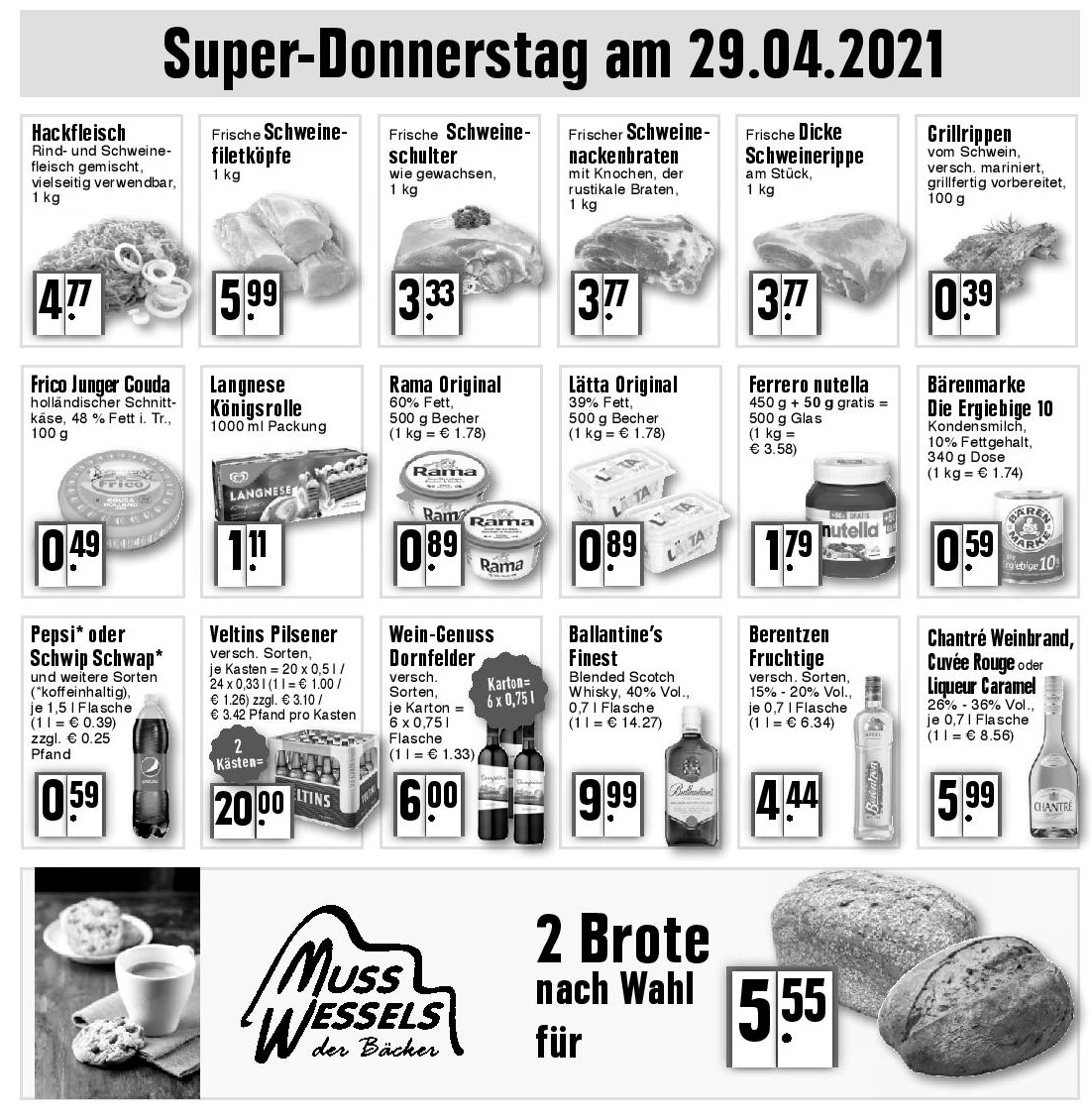 Super-Donnerstag am 29.04.2021