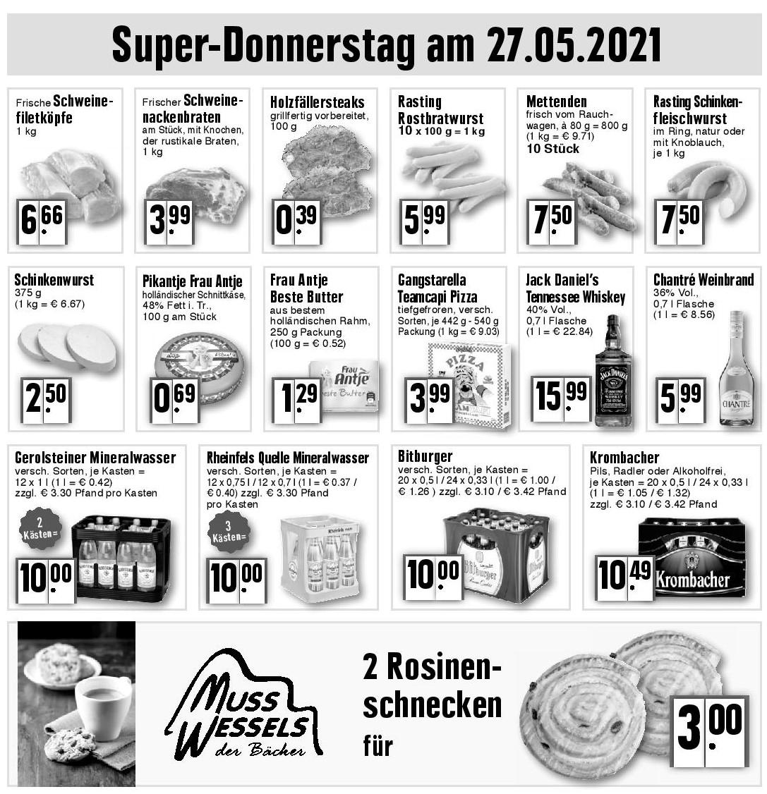 Super-Donnerstag am 27.05.2021