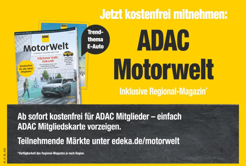 ADAC Motorwelt  -  Neue Ausgabe