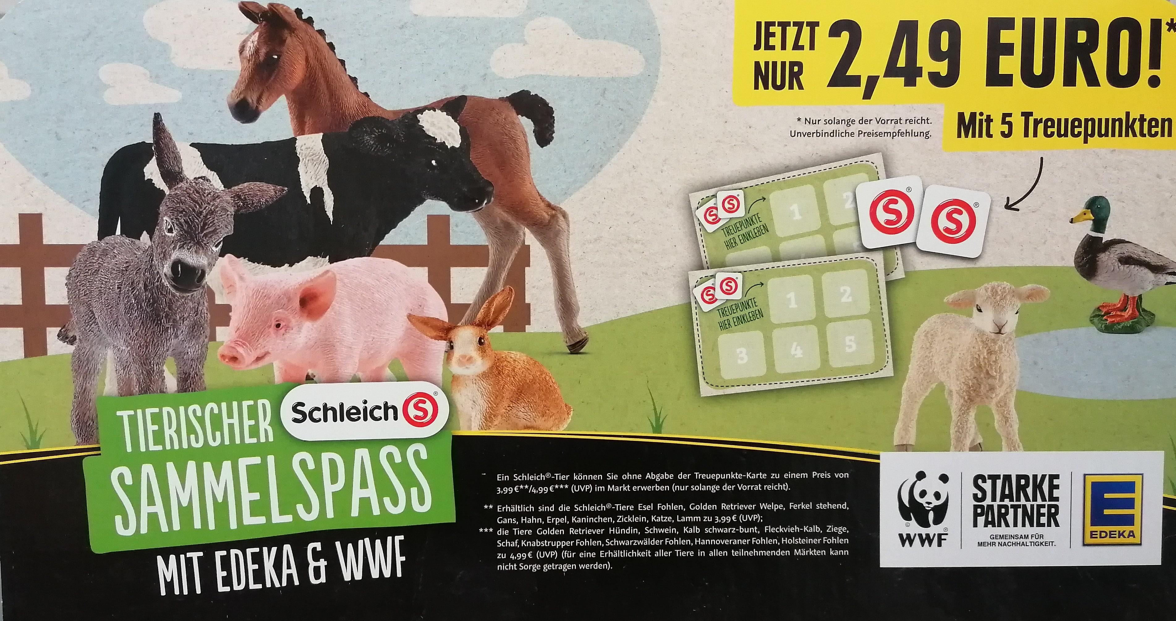 WWF Schleich® Sammelaktion 2021